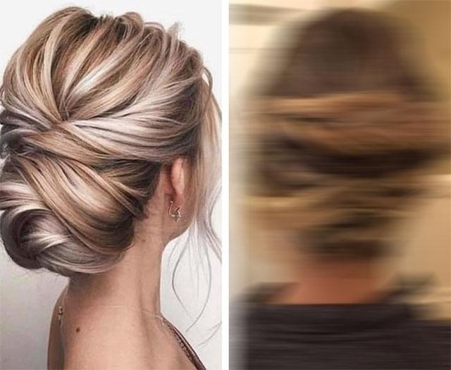 Невеста отишла на фризер и ја побарала оваа фризура, па се шокирала кога се видела во огледалото