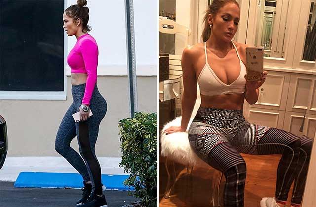 """Џенифер Лопез ги """"фотошопира"""" фотографиите на Инстаграм – погледнете како навистина изгледа во бикини (фото)"""