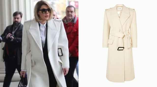 Нема да ви се верува колку чини капутот на Ана Камчева