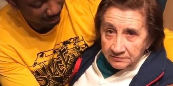 """Бабата на Ивана за прв пат го виде зетот Афроамериканец, а снимката стана хит: """"Тој е мојот зет? Што e со тебе?"""""""
